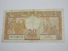 50 Francs 1956 - Royaume De Belgique  **** EN ACHAT IMMEDIAT **** - [ 2] 1831-... : Royaume De Belgique