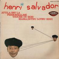 Disque 45 Tours HENRI SALVADOR - Année 1967 - Disco & Pop