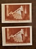 "Oude           2 Stuks   Kaartjes LA  PARFUMERIE  ""  FRAGONARD""   PARIS - Perfume Cards"