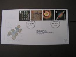 GB FDC 1999  1819-1822 Jahrtausendwende - FDC