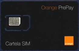 MOLDOVA - MOLDAVIA GSM (SIM) CARD ORANGE BLACK MINT UNUSED - Moldova