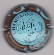 Capsule Champagne BIGAULT_ROUALET ( 5b ; Bleu Contour Marron ) {S14-20} - Champagne
