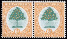 Südafrika 27-28 6p Landesmotive Paar Tadellos Postfrisch Seltener Pretoriadruck - Afrique Du Sud (...-1961)
