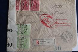 1917       LETTRE DE  ROUMANIE  POUR  GENEVE     AVEC   CONTROLE MILITAIRE  POSTAL       2  PHOTOS - Soldaten Briefmarken