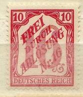 DR Dienstmarken 1905, Mi D 12 ** [050119XXIII] - Officials