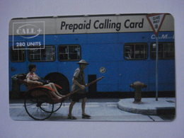 """Carte Prépayée Française  """"CALL +"""" 280 Unités (utilisée Luxe), Pas Signaler. - Cellphone Cards (refills)"""