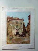 """Biglietto Auguri """"A.N.L.C.  Associazione Nazionale Libera Caccia, Roma"""" Anni '60 - Cartoncini Da Visita"""