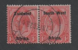 South West Africa, SWA, Used, 1923, Michel 33_34 Pair - South West Africa (1923-1990)