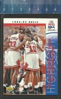 NBA UPPER DECK TRADING CARD BASKET 1992-93 THE 1993 NBA FINALS - N° 208 - BULLS - Singles (Simples)