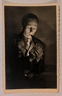 CARTE PHOTO MILITARIA : Portrait D'officier - War 1939-45