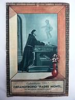 """Piccolo Calendario """"ORFANOTROFIO PADRE MONTI MILANO Anno 1957"""" - Calendari"""