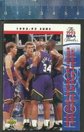 NBA UPPER DECK TRADING CARD BASKET  THE 1993 NBA FINALS - N° 209 - SUNS - Singles (Simples)