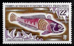 TAAF N°43 22F Lilas, Brun & Lilas-rose 1972 ** - Terres Australes Et Antarctiques Françaises (TAAF)
