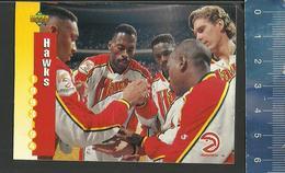 NBA UPPER DECK TRADING CARD BASKET 1993-94 SCHEDULE - N° 210 - HAWKS - Singles (Simples)
