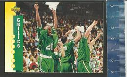 NBA UPPER DECK TRADING CARD BASKET 1993-94 SCHEDULE - N° 211 - CELTICS - Singles (Simples)