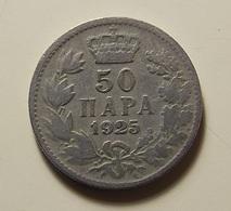 Yugoslavia 50 Para 1925 - Yougoslavie