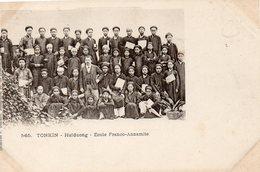 Viet-nam   Tonkin  Haiduong école Franco Annamite - Viêt-Nam