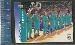 NBA UPPER DECK TRADING CARD BASKET 1993-94 SCHEDULE - N° 212 - HORNETS - Singles (Simples)