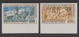 LAOS  1975 NON DENT / IMPERF  UNESCO  TEMPLE BOUDDHISM  **MNH  Réf  287 - Laos