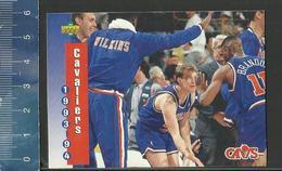 NBA UPPER DECK TRADING CARD BASKET 1993-94 SCHEDULE - N° 214 - CAVALIERS - Singles (Simples)