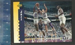 NBA UPPER DECK TRADING CARD BASKET 1993-94 SCHEDULE - N° 235 - JAZZ - Singles (Simples)