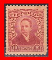 EL SALVADOR SELLO DE 10 CENTAVO - El Salvador