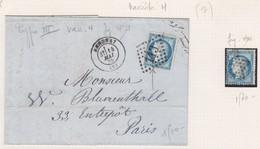 N°60C Type III, Lot De 106 Timbres Dont Quelques Lettres Avec Variétés Rares, Dont 20 Var. Suarnet, TB - 1871-1875 Ceres