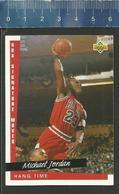 NBA UPPER DECK TRADING CARD BASKET 1993 SIGNATURE MOVES - N° 237 - HANG TIME MICHAEL JORDAN - Singles (Simples)