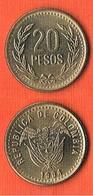 Colombia  20 Pesos 1994 -KM#282.2 - RARE! - Colombie