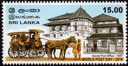 Sri Lanka - 2018 - World Post Day - Mint Stamp - Sri Lanka (Ceylan) (1948-...)
