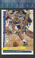NBA UPPER DECK TRADING CARD BASKET 1993 SIGNATURE MOVES - N° 239 - CROSSOVER DRIBBLE - TIM HARDAWAY - Singles (Simples)
