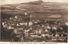Lozere : Le Bleymard, Vue Générale Prise  De Senias - Le Bleymard