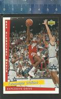 NBA UPPER DECK TRADING CARD BASKET 1993 SIGNATURE MOVES - N° 240 - EXPLOSIVE DRIVE - DOMINIQUE WILKINS - Singles (Simples)