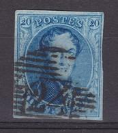 N° 11 A Margé 24 BRUXELLES     PL IV / 184 - 1858-1862 Medaillen (9/12)