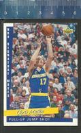 NBA UPPER DECK TRADING CARD BASKET 1993 SIGNATURE MOVES - N° 242 - PULL-UP JUMP SHOT - CHRIS MULLIN - Singles (Simples)