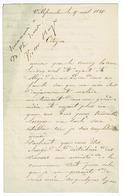 LETTRE D'UN ANCIEN CONDAMNE DE LA COMMUNE SYLVAIN BOUISSON ET AUTOGRAPHES DE VICTOR HUGO - Autografi