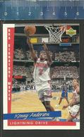 NBA UPPER DECK TRADING CARD BASKET 1993 SIGNATURE MOVES - N° 243 - LIGHTNING DRIVE - KENNY ANDERSON - Singles (Simples)