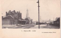 Ninove: La Gare, 1902. - Ninove