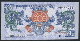 BHUTAN  P27b  1  NGULTRUM    2013     UNC. - Bhutan