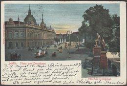 Platz Am Zeughaus Mit Blücher-Denkmal, Berlin, 1903 - Theodor Eismann AK - Mitte
