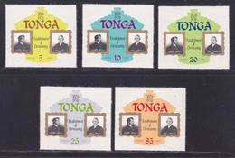 TONGA N°  377 à 381 ** MNH Neufs Sans Charnière, TB (L1207) 150ème Anniversaire Du Christianisme Au Tonga  -1976 - Tonga (1970-...)