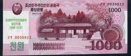 NORTH KOREA NLP 1000 Won 2018 Comm. 70 Years UNC. - Corée Du Nord