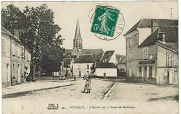 CPA -45 - PUISEAUX - Entrée Par La Route De Montargis - - Puiseaux