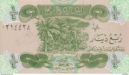 IRAK 1/4 DINAR 1993 UNC P 77 - Iraq