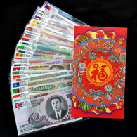 50 PCS Of Different World MIX Foreign Banknotes Lot, Currency, UNC Free Shipping - Coins & Banknotes