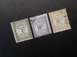 MI 36x/37x/38 - Portomarken  1908 - 1859-1955 Oblitérés