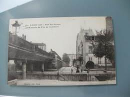 CPA  Tout Paris Carte Postale Ancienne Paris Rue Du Gabon Le Chemin De Fer De Ceinture - France