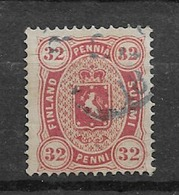 1875 USED Finland Perf 14:13 1/2 - 1856-1917 Amministrazione Russa