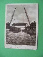 SVIRSTROY (Leningradskaya) 1931 Construction Bridge And A Hydropower Station. Postcard Series USSR NA STROYKE - Rusland