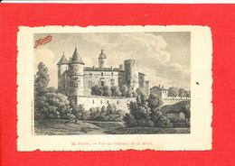 69 LYON Cpa Rhone Vue Du Chateau De La Motte PUB MAGGY Potages    33 Fortier - Lyon 7